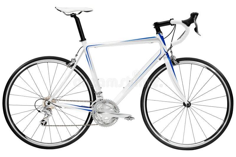 Bike. Race road bike isolated on white background stock photos