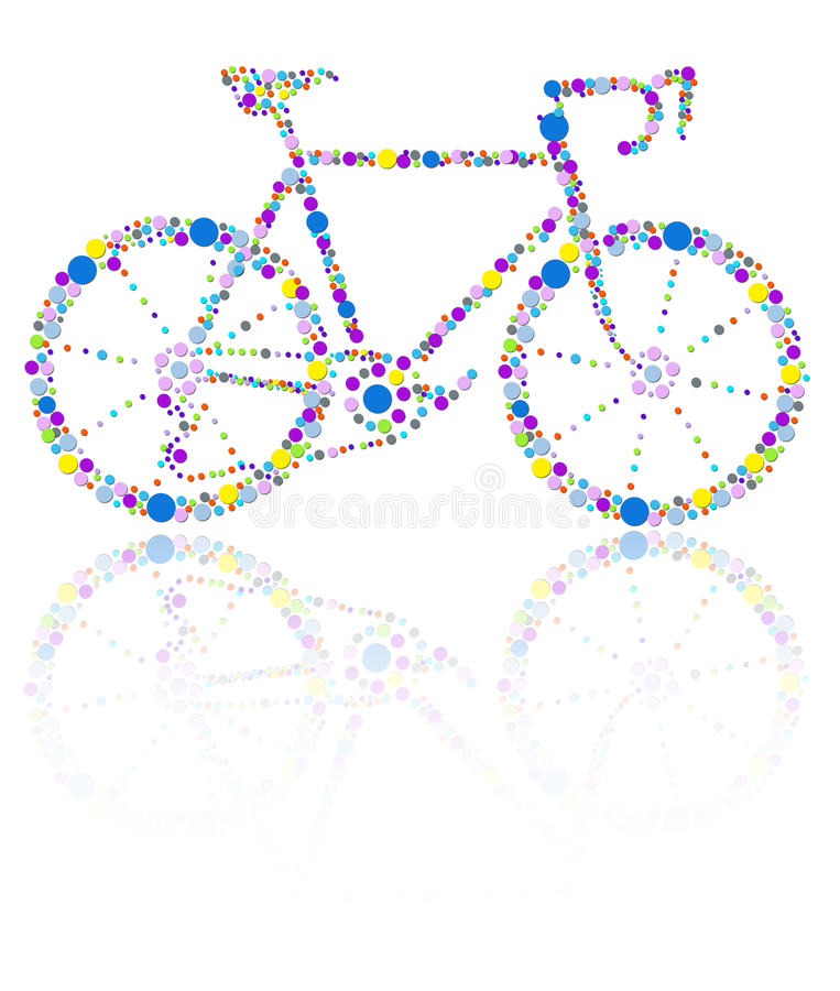 Download Bike stock illustration. Image of colors, ride, cycling - 29221657