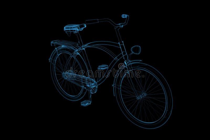 Bike 3D X-Ray Blue