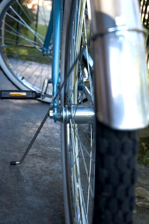 Bike. Tire stock photography
