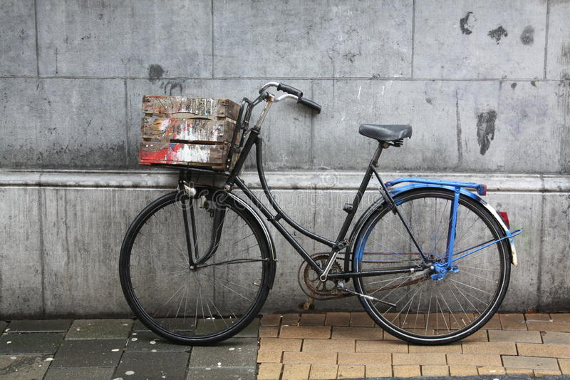 Bike auction chest. stock images