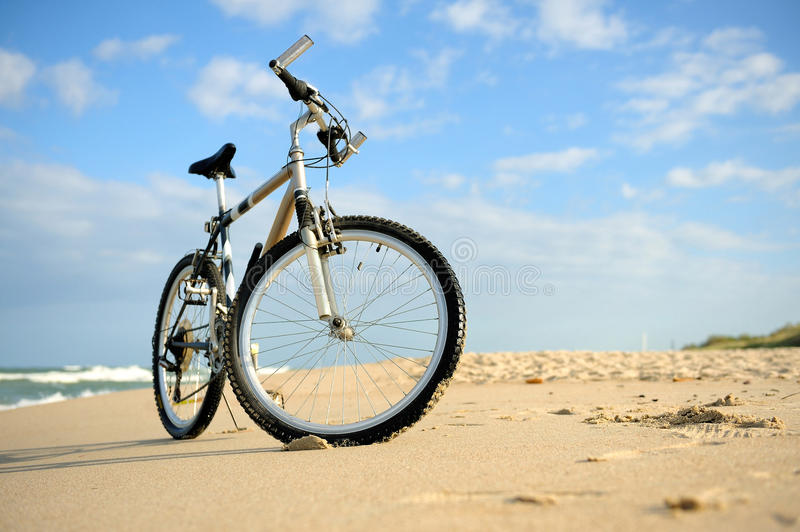 Download Bike on the Beach stock image. Image of summer, relaxation - 26624015