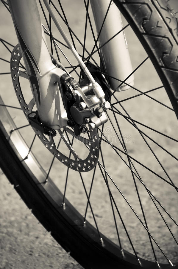 Download Bike brake stock photo. Image of biking, brake, bicycle - 14335800