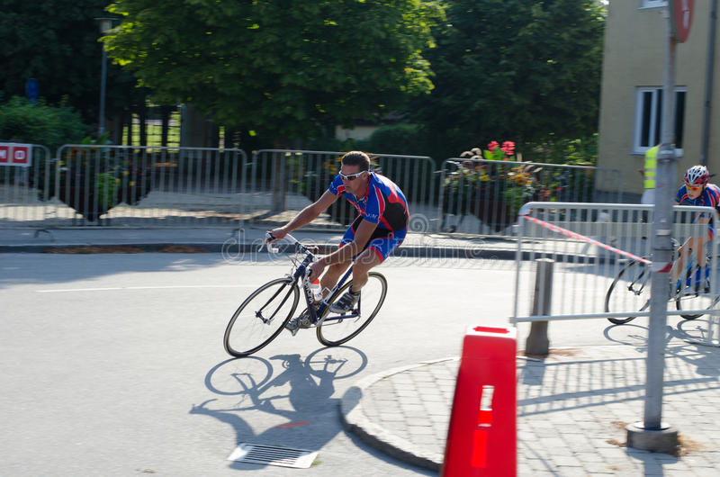 Bike competition. In Vellinge Sweden 2014. 1-3 august royalty free stock photography