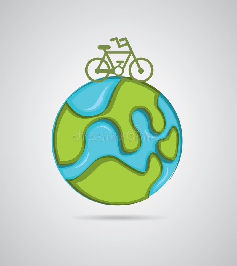 Bike design stock illustration