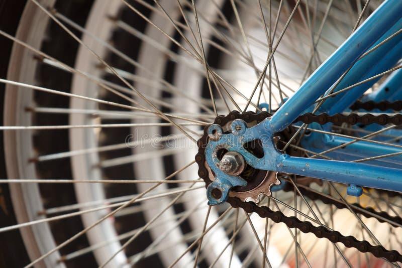 Bike detail close-up. royalty free stock photo