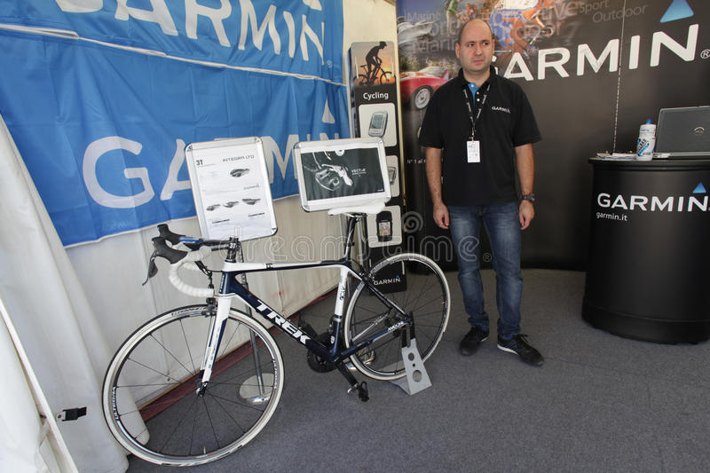 Download Bike expo in Rome editorial image. Image of path, navigation - 27120665