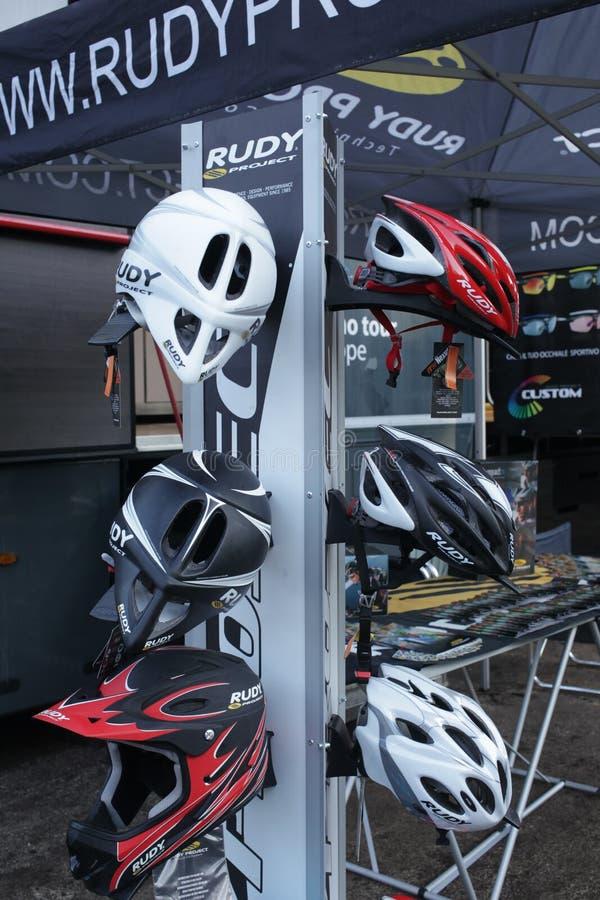 Download Bike helmets editorial stock image. Image of endurance - 27121199