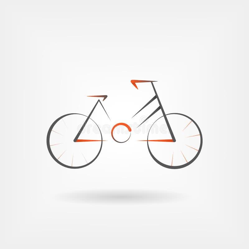 Bike icon vector stock illustration