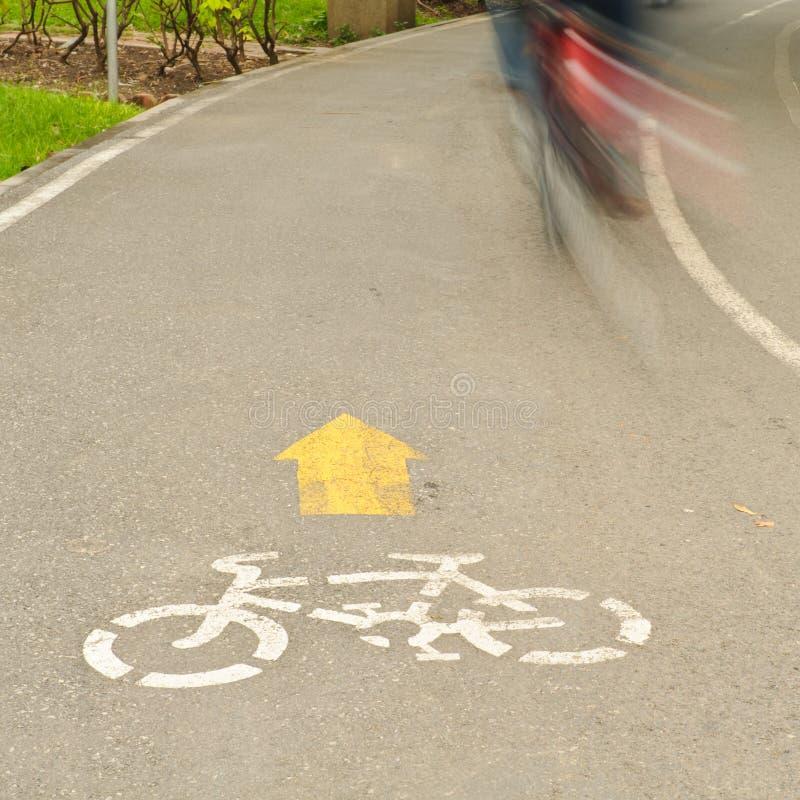 Free Bike Lane Royalty Free Stock Images - 16733169