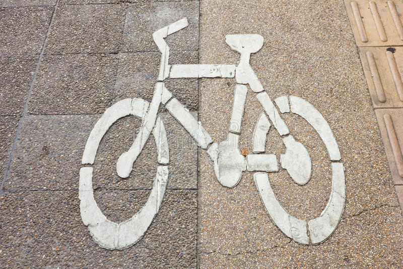 Download Bike Lane Stock Photo - Image: 21454090