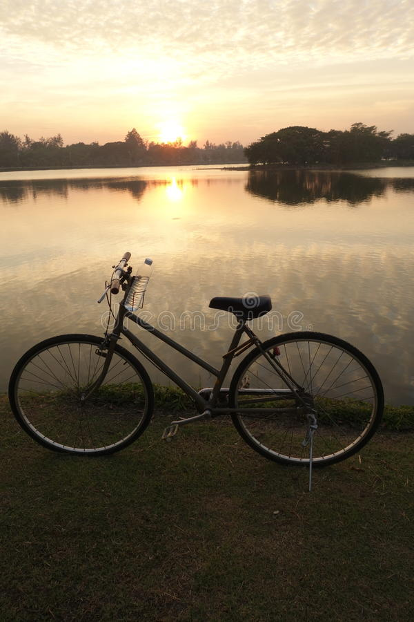 Bike For Life, Evening Time Stock Photo - Image of evening ...