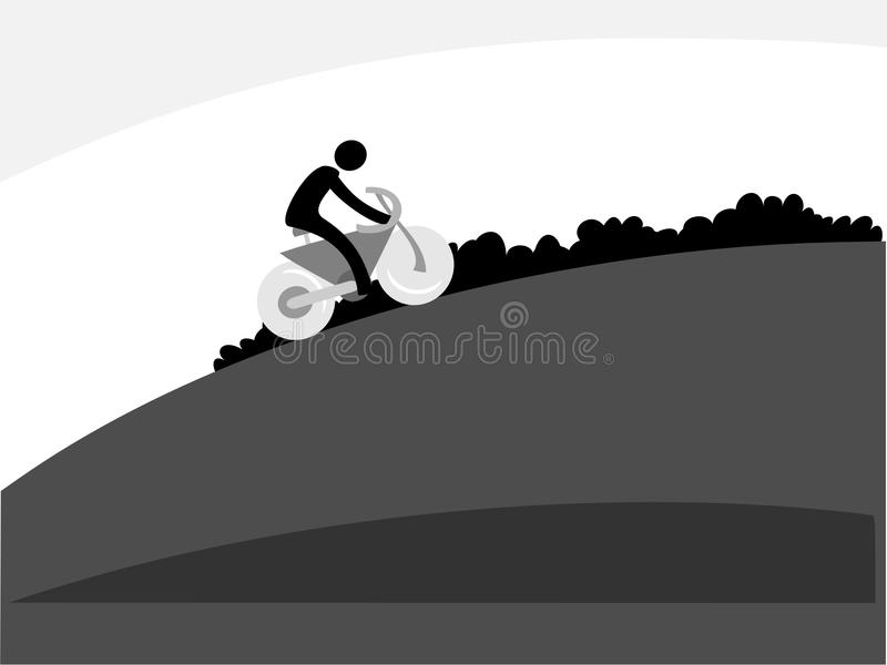 The bike stock image