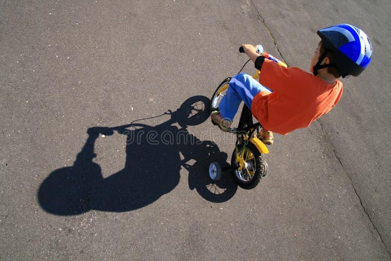 Bike o tempo? foto de stock