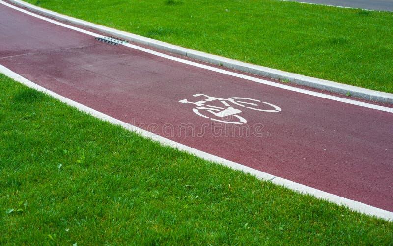 Bike o trajeto imagem de stock royalty free