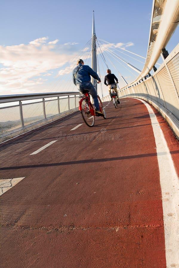 Bike o trajeto foto de stock royalty free
