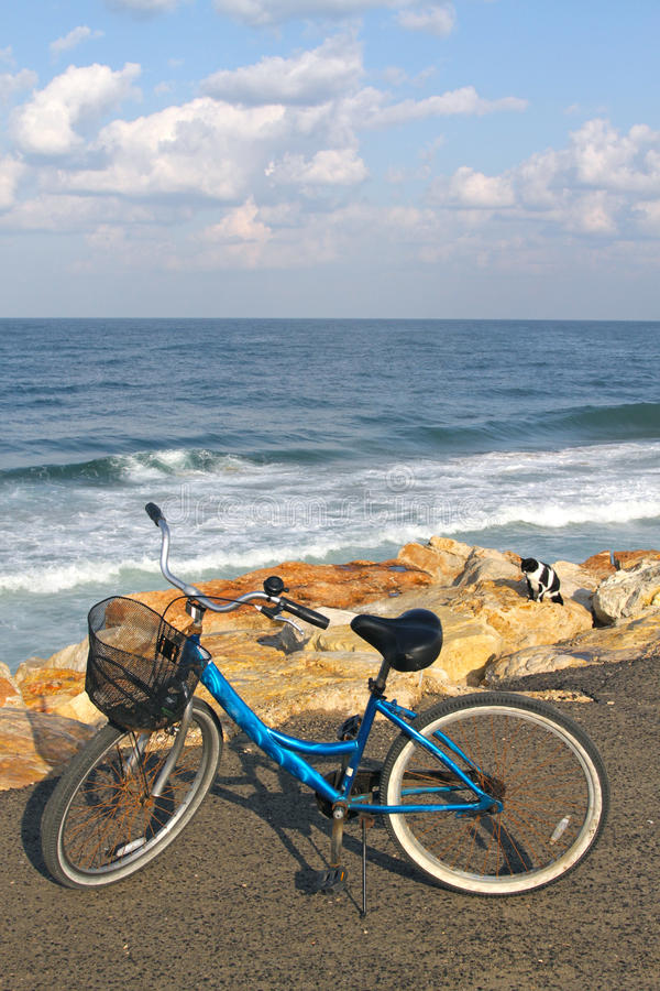 Free Bike On A Beach Royalty Free Stock Image - 22038686