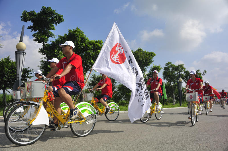 Download Bike parade editorial image. Image of venues, transportation - 20789910
