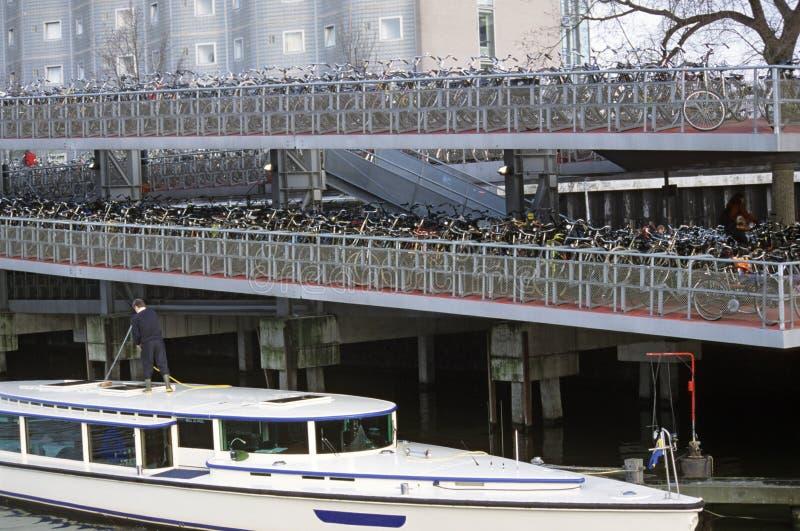 Download Bike Parking Lot , Amsterdam Stock Photo - Image: 756082