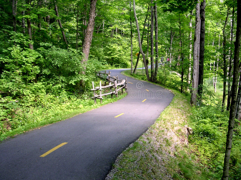 Bike Path royalty free stock photos