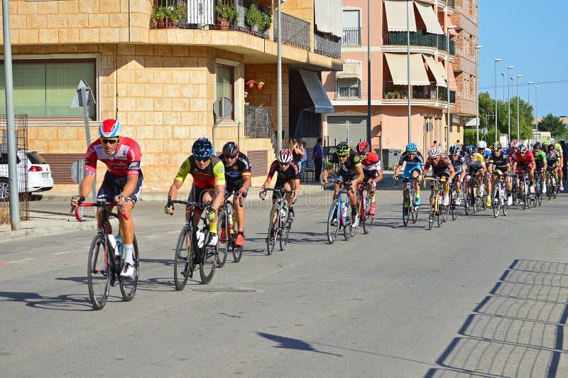 Bike Race Peleton stock image