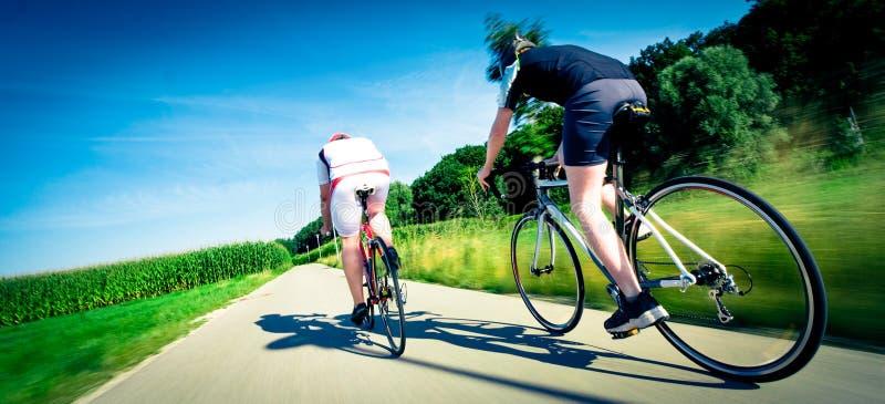 Bike Race stock image