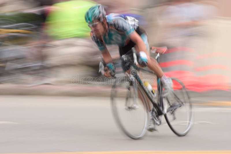 Bike Racer #2 stock photo