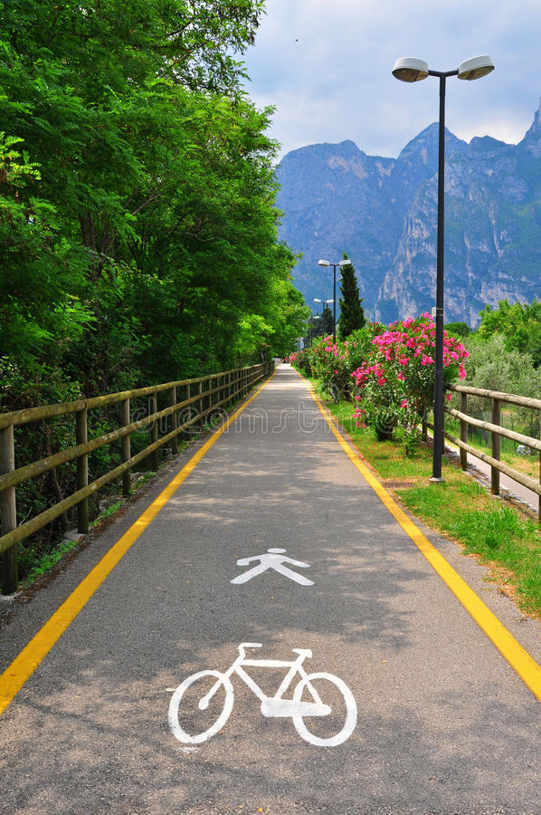 Download Bike Road In Italy Stock Photo - Image: 41868797
