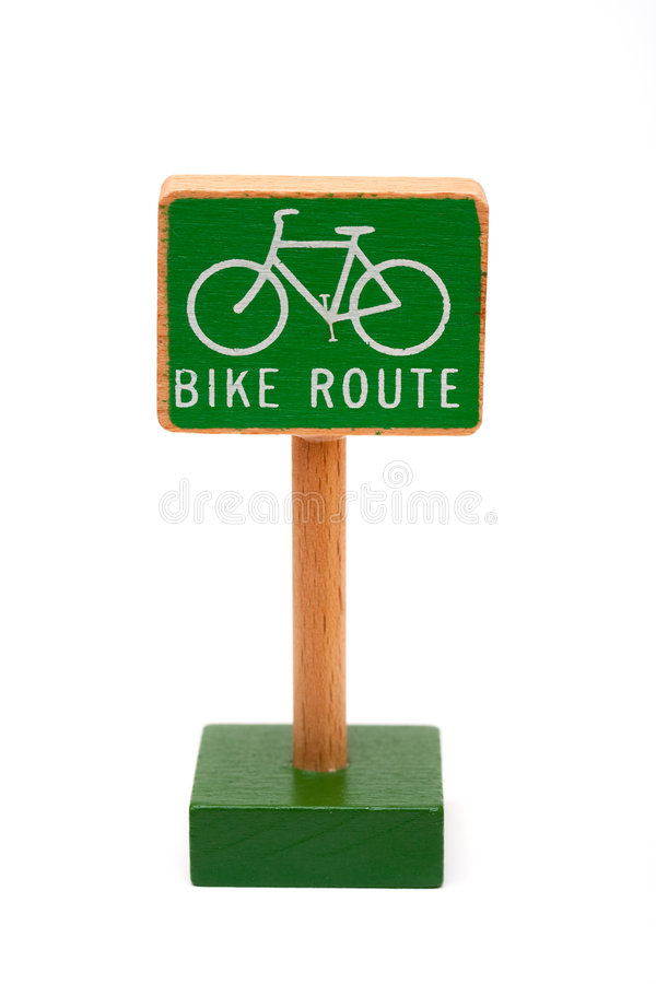 Download Bike route stock photo. Image of activity, commute, sign - 8231184
