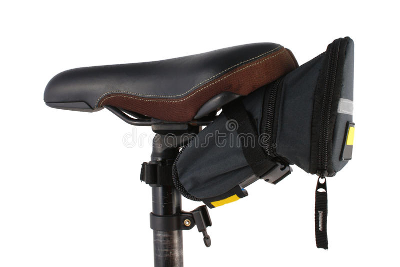 Download Bike Saddle And Carry Bag Royalty Free Stock Images - Image: 10528049
