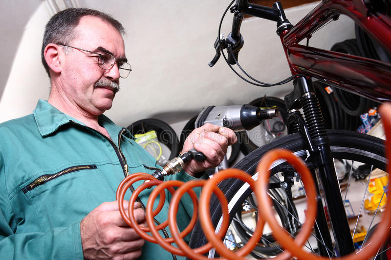 Download Bike service stock photo. Image of part, trouble, repair - 28760216