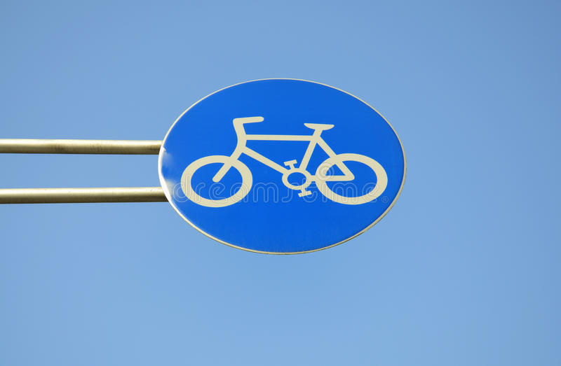 Download Bike Sign stock photo. Image of city, sports, bike, road - 27378948