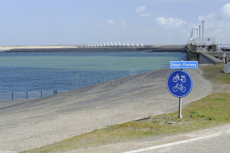 Download Bike Signpost At Pijlerdam, Netherlands Royalty Free Stock Image - Image: 24634546