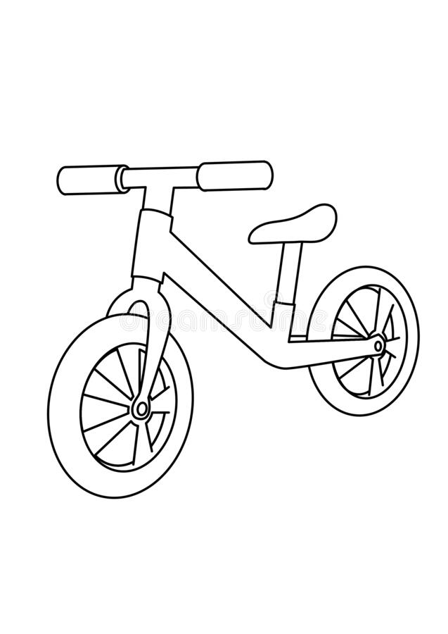 Coloring Bike Stock Illustrations 663 Coloring Bike Stock Illustrations Vectors Clipart Dreamstime