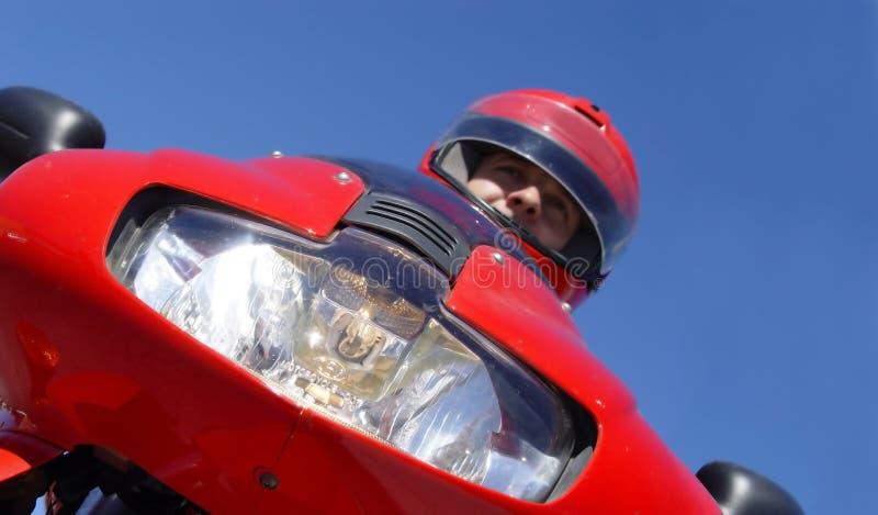 Download Biker stock image. Image of blue, highway, people, compete - 33803