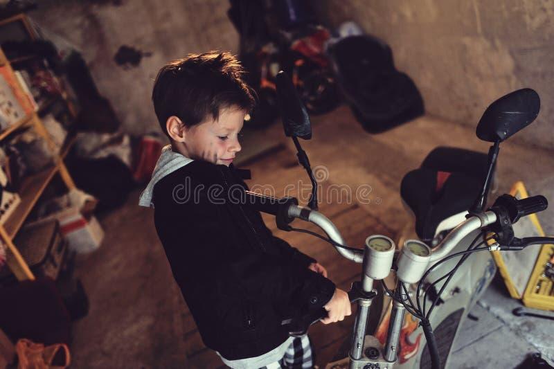 Download Biker Boy Royalty Free Stock Photography - Image: 33579497