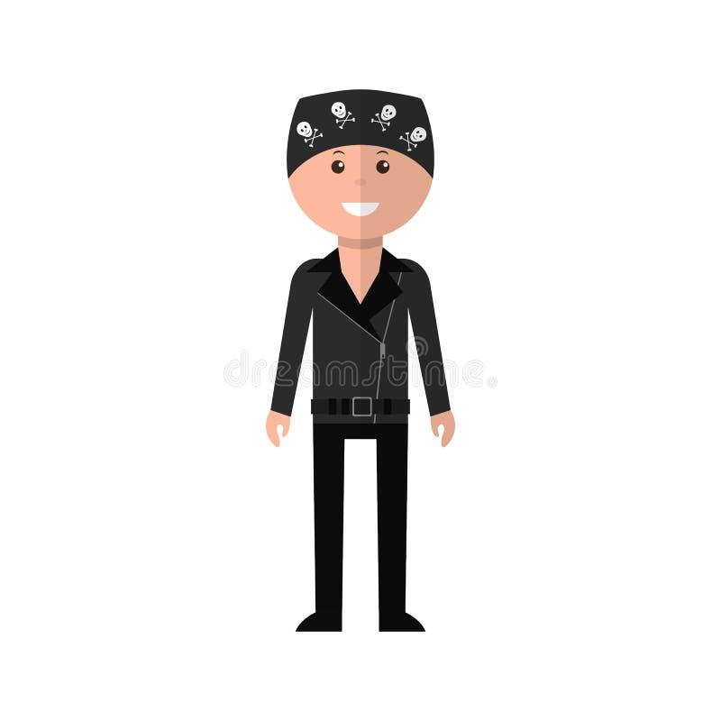 Biker Character Stock Illustrations – 3,314 Biker Character