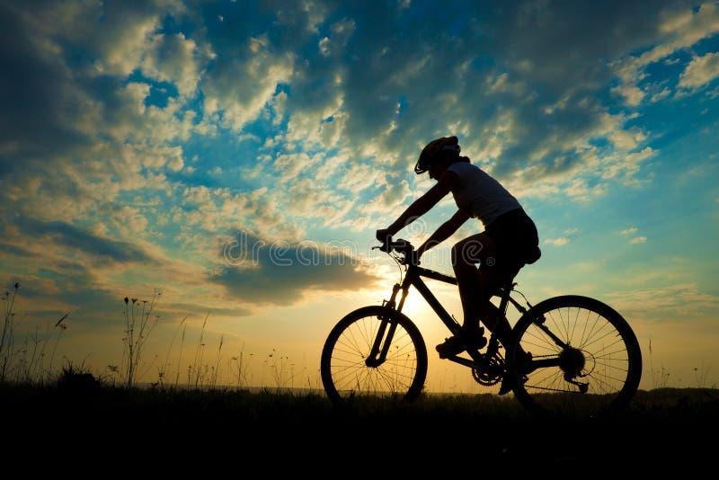 Biker-girl stock photos