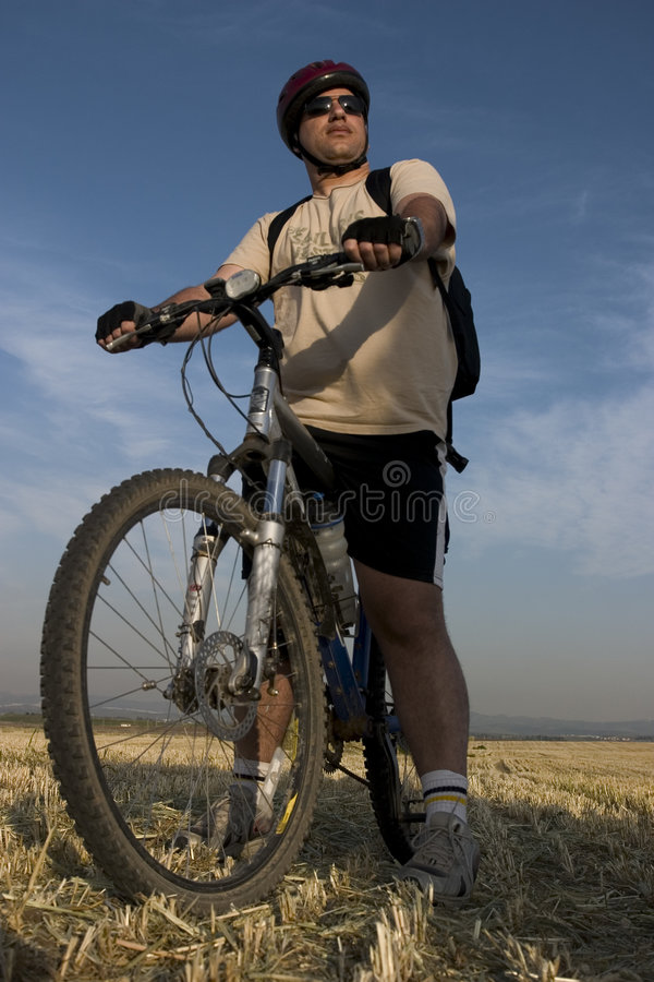 Download Biker Portrait stock image. Image of riding, israeli, bike - 634155
