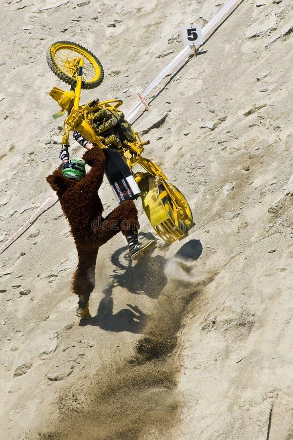 Download Biker Stunt stock image. Image of sand, dirt, accident - 5339411