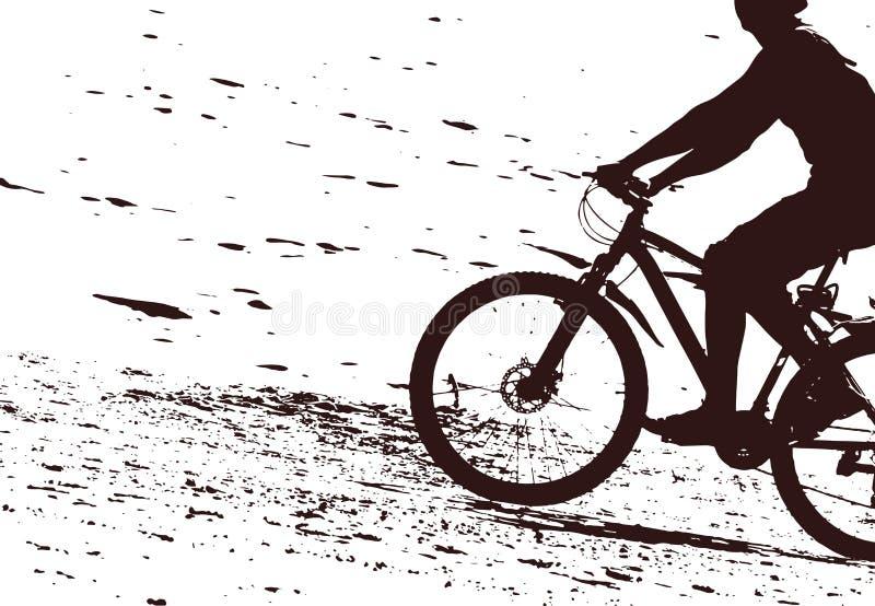 Biker illustrazione vettoriale