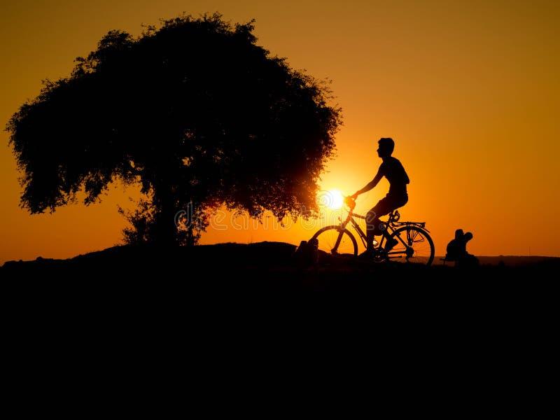 Bikeride lizenzfreie stockfotografie