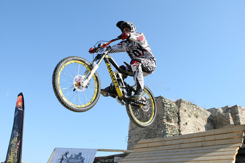 Download Bikers competition editorial stock image. Image of downhill - 27704689
