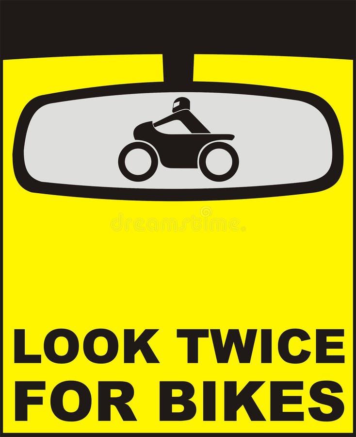 bikes смотрят дважды стоковые изображения