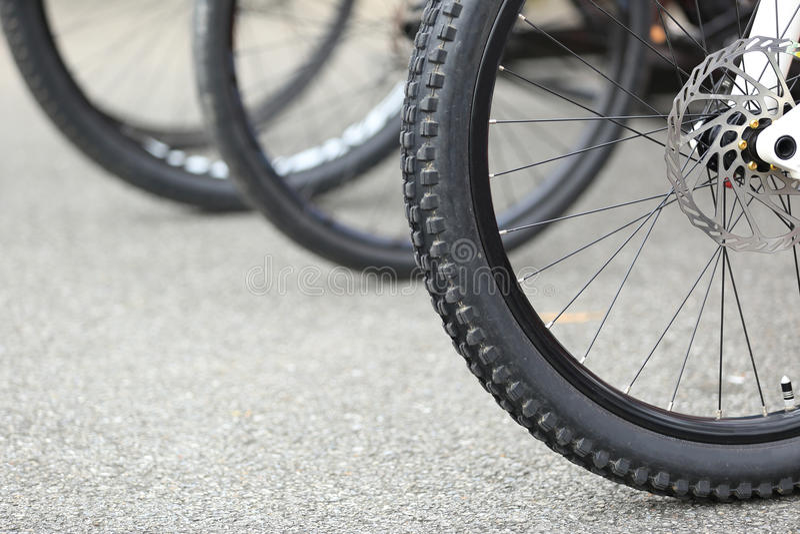 Bikes royalty free stock photo