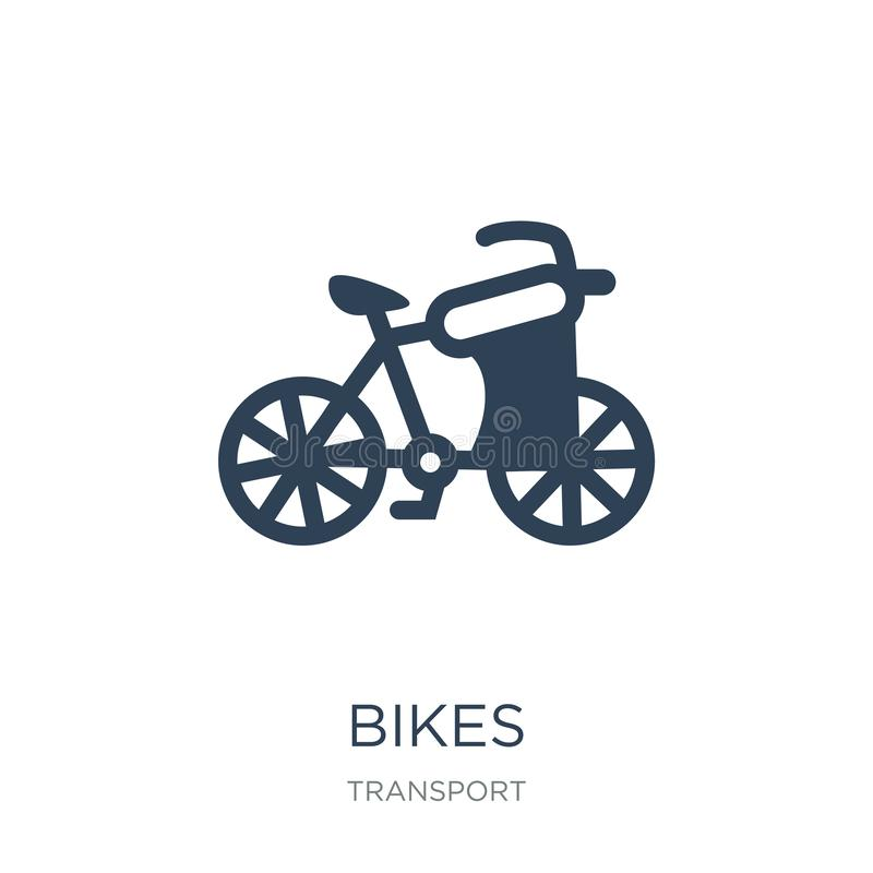 bikes icon in trendy design style. bikes icon isolated on white background. bikes vector icon simple and modern flat symbol for royalty free illustration