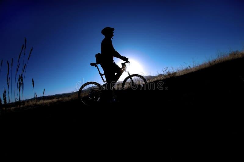 biking βουνό στοκ φωτογραφίες με δικαίωμα ελεύθερης χρήσης