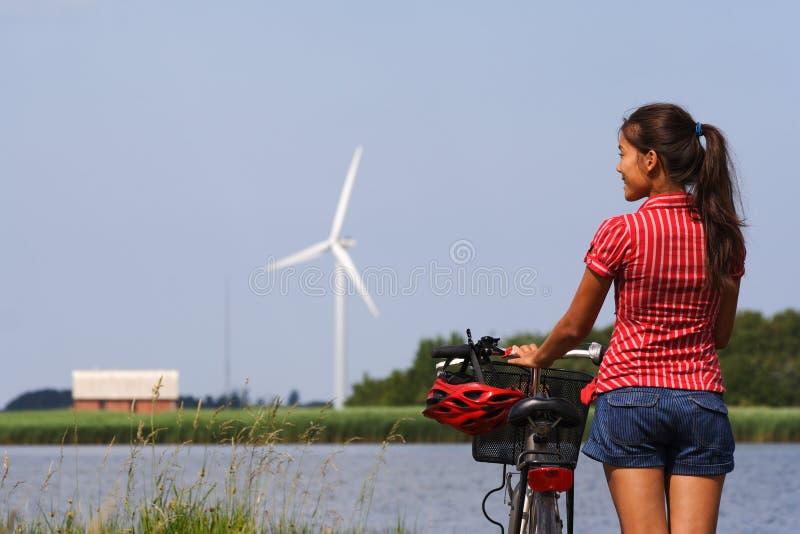 biking Δανία στοκ φωτογραφίες