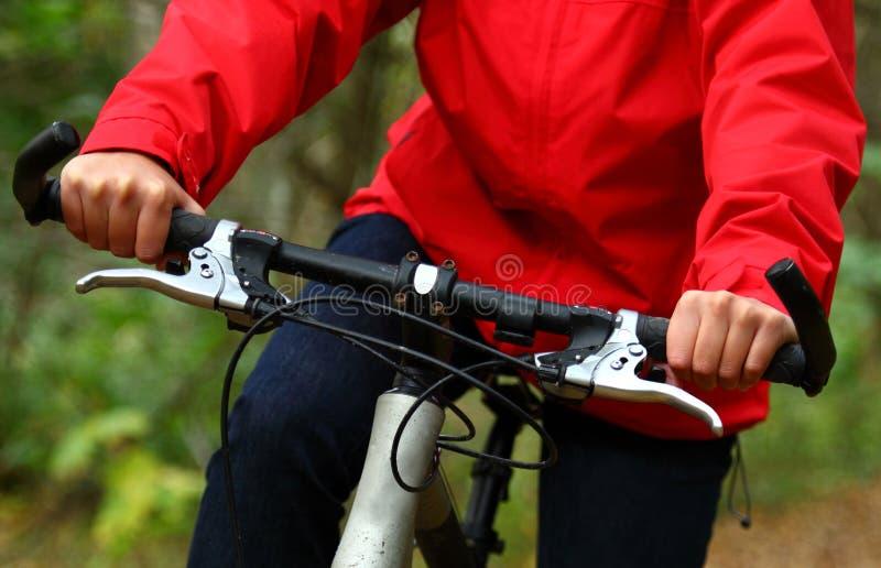 Biking foto de stock royalty free