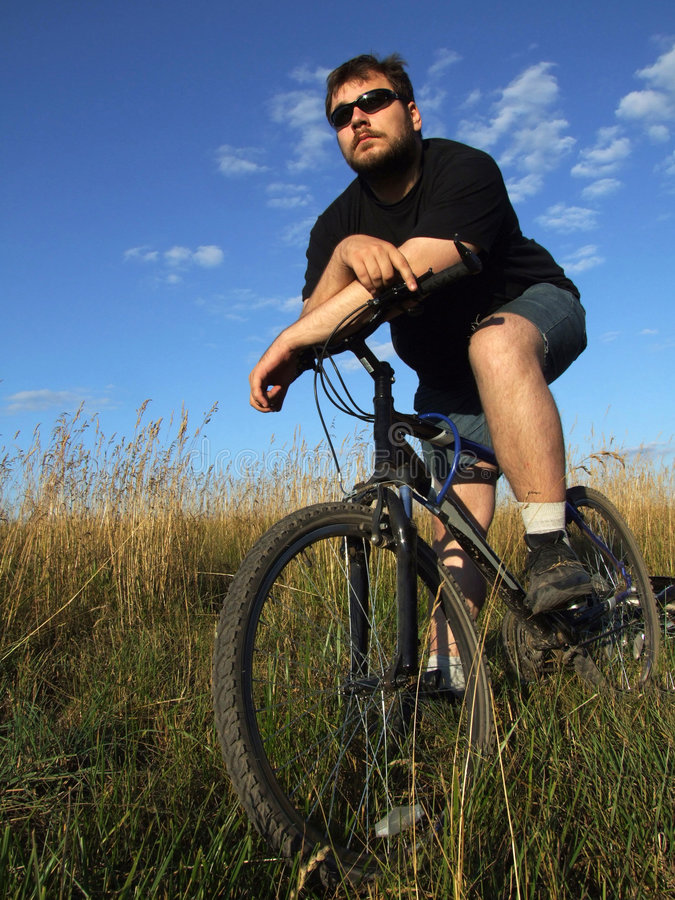 Biking 3 stock foto